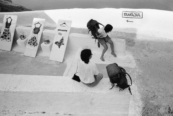 Nicos Economopoulos, Santorini 1983