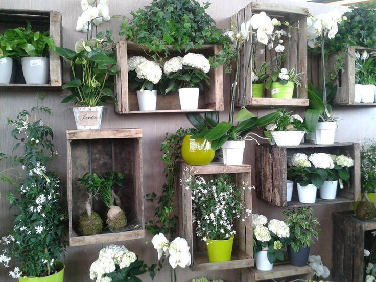 Caisse En Bois Deco : Caisses En Bois sur Pinterest Cageots, Vieilles Caisses En Bois et