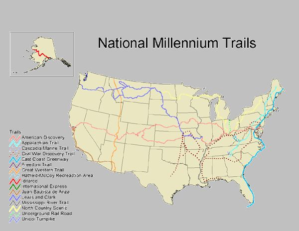 American Long Distance Hiking Society Httpwwwaldhawestorg - Map of us hiking trails