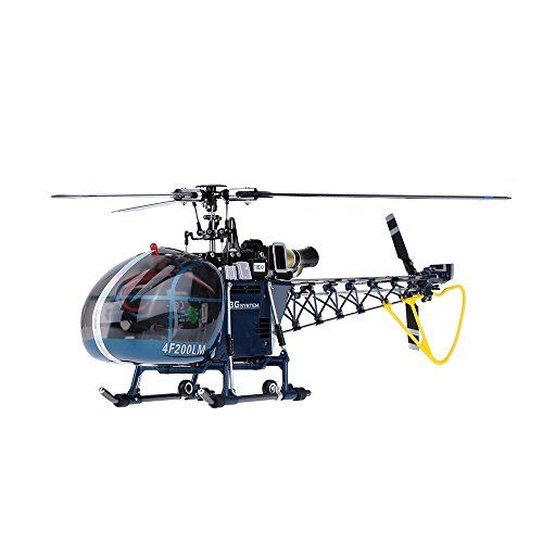 Walkera 4F200LM High Simulation 2.4G 3D 6CH 3-Axis RC Flybarless Helicopter w/ Devo 7 Transmitter