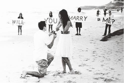 Will you marry me proposal