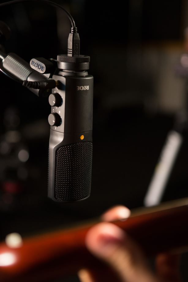 New USB microphone offereing from Rode, the NT-USB.