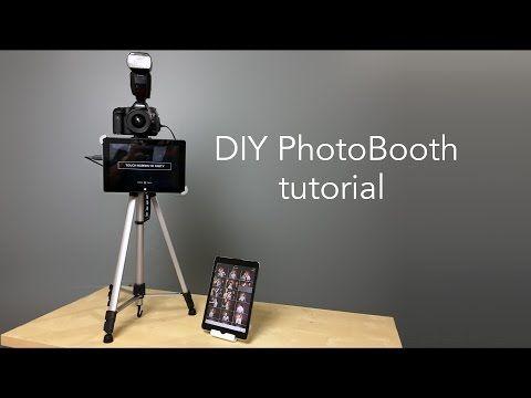 DIY Photo Booth For Semi Formal - Beauty Guru Challenge 2 - YouTube