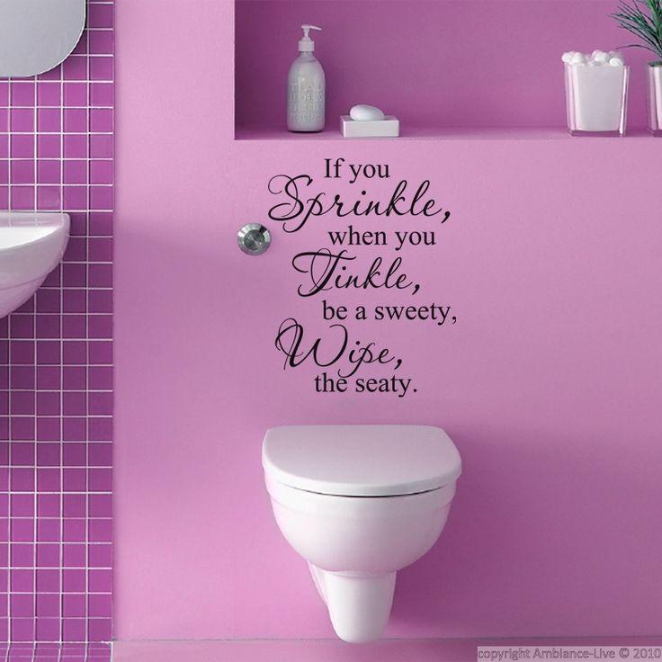 11 best galerie stickers pour vos toilettes for your. Black Bedroom Furniture Sets. Home Design Ideas