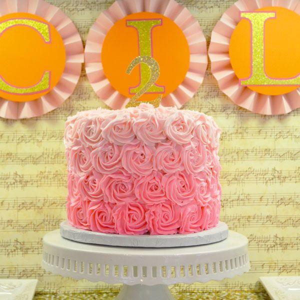SHARE   Girly Music Birthday Party