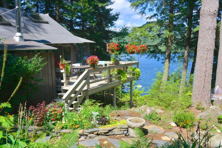 "Experience Squam Lake, Holderness, NH. Stop by for a visit while you're here!  It's where they filmed ""On Golden Pond""."