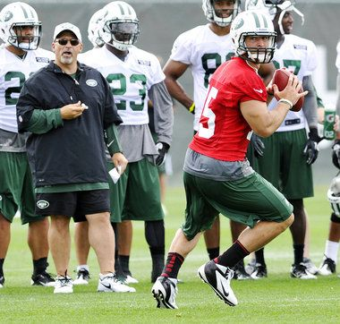 """""""Does Tim Tebow deserve a spot on the New York Jets' roster?"""" syracuse.com (August 9, 2012)"""