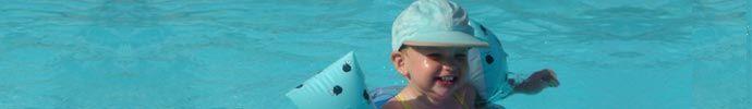 Voorbeelslessen watergewenning en zwemmen voor kleuter- en basisonderwijs