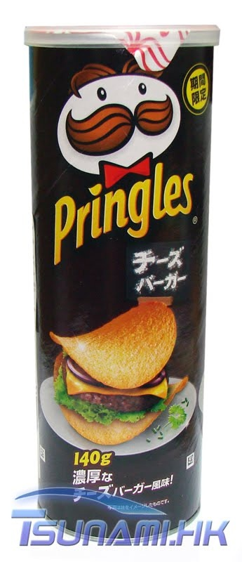 Pringles Cheeseburger Flavoured  C B Japanese Potatojapanese Candyjapanese