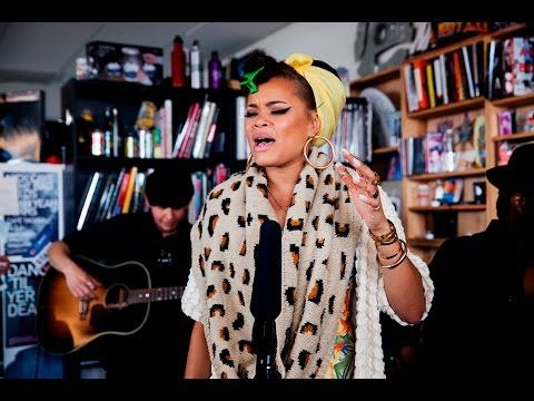 I LOVE HER SOUND AND HER LOOK! Andra Day: NPR Music Tiny Desk Concert