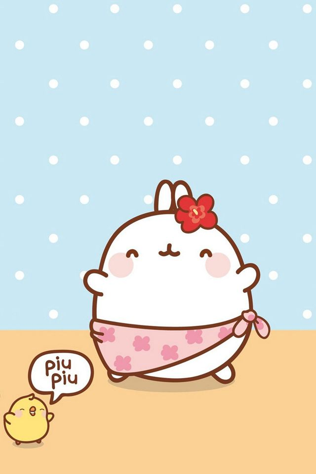 Iphone 4 Wallpaper The Quot Piu Piu Quot Made My Day Molangs