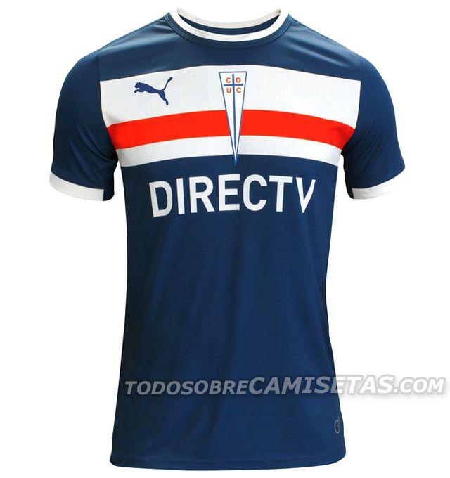 Todo Sobre Camisetas: Camisetas Puma de Universidad Católica 2014