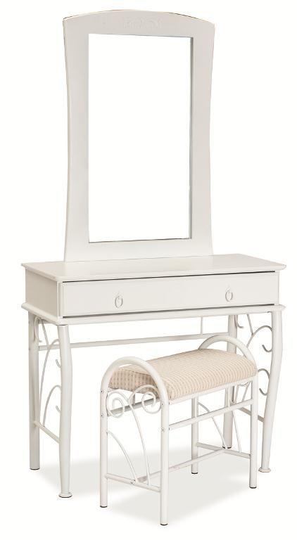 Toaletný stolík s taburetkou 1102 - Vera nábytok