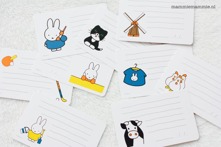 Miffy milestone cards