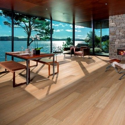 Kahrs Oak Paris 1-Strip 187mm Matt Lacquered Stained Micro Bevelled Brushed