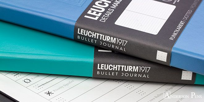 Explore the Leuchtturm1917 Bullet Journal - for the list-makers, the note-takers, the Post-It note pilots, the artful organizers, and the dabbling doodlers! Now available in the gorgeous Nordic Blue! ___ #fpn #fpgeeks #fountainpen #fountainpens #andersonpens #handwriting #inkspiration
