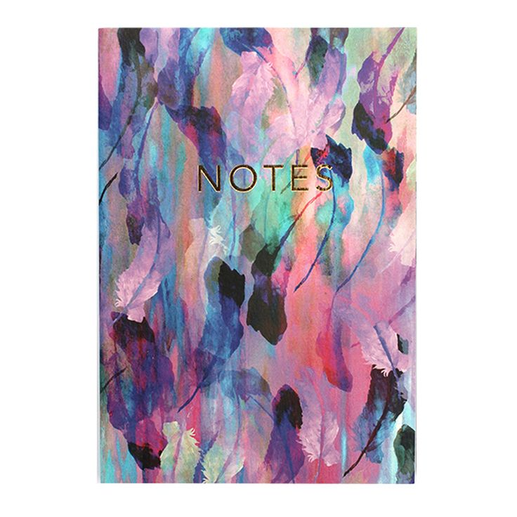 A6 Freedom Feathers Notebook | ACHICA