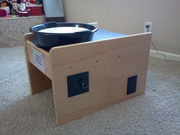 I… DIY Potters Wheel via Instructables