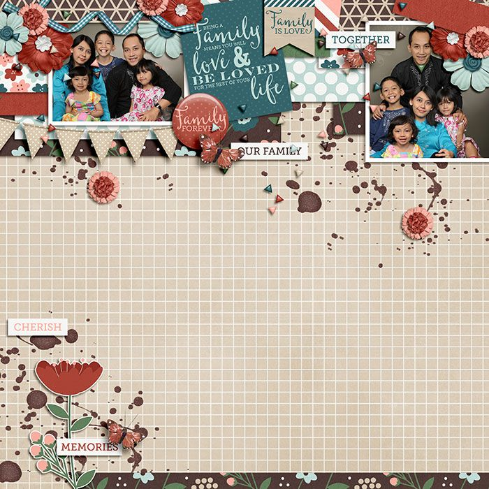 Happiness is : Family by Meghan Mullens and Tickled Pink Studio.