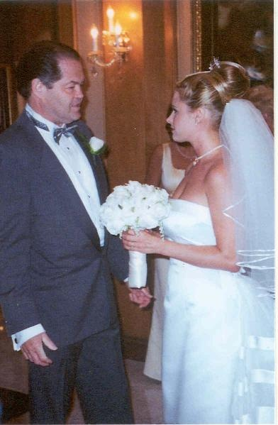 Micky Dolenz (The Monkees) With Daughter Ami On Her Wedding Day