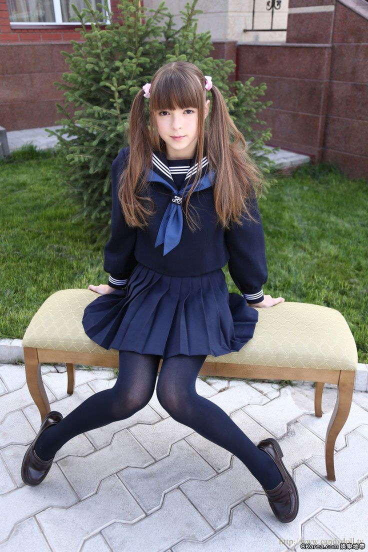 Submissive school uniform play with kaz b and tallulah 8
