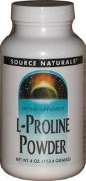 Source Naturals L-Proline Powder is an amino acid valuable for the synthesis of collagen and cartilage to promote joint health and healthy skeletal muscle functions. Vegan diet, low-protein diet, and normal ageing process may reduce the body's production of this non-essential amino acid. During these cases, additional supply of L-Proline should be acquired from the diet or L-Proline supplements. - Log on http://www.tasmanhealth.co.nz/ for more.