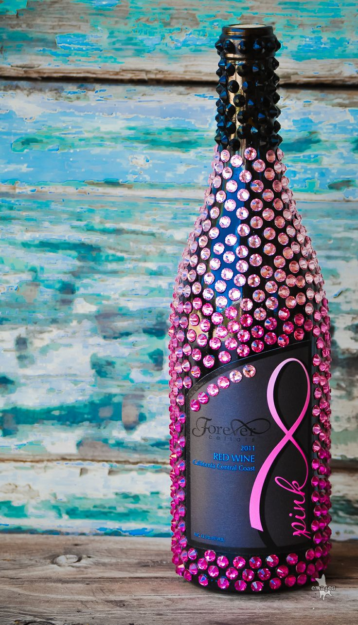 Forever Cellars PINK ELITE BOTTLE. Breast cancer research! PD
