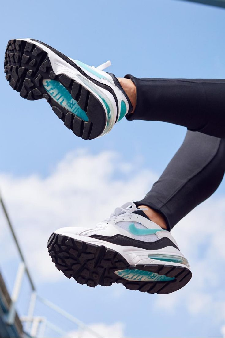 NIKE WMNS AIR MAX 93 'Dusty Cactus' | #afflink | Workout, Hiit