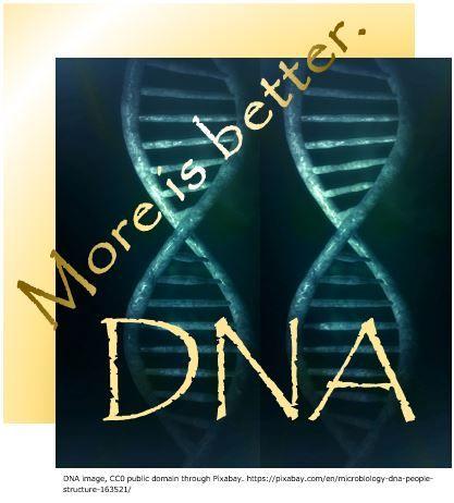Genetic genealogy-- More DNA is Better