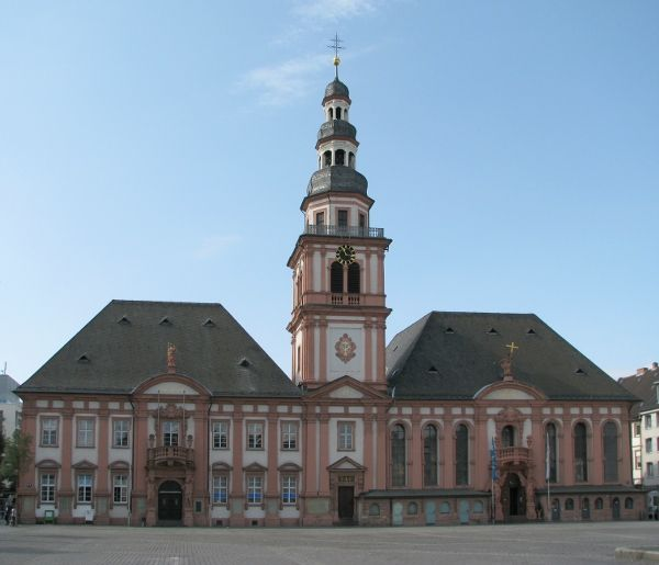 Mannheim, Germany [shown: Old City Hall St-Sebastian]