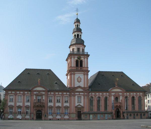 Mannheim, Germany [shown: Old City Hall St-Sebastian]