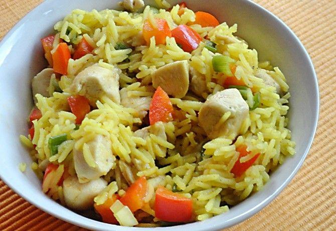 Currys rizs csirkemellel