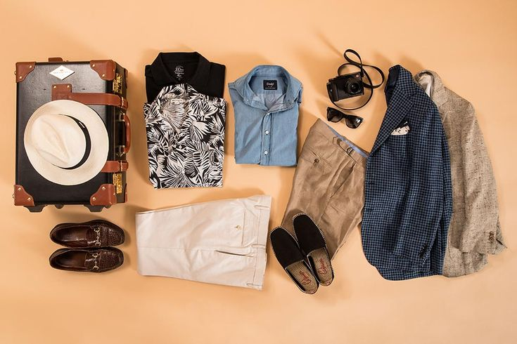 Travel In Style This Summer With Our July Capsule Wardrobe  http://hespokestyle.com/vacation-capsule-wardrobe/