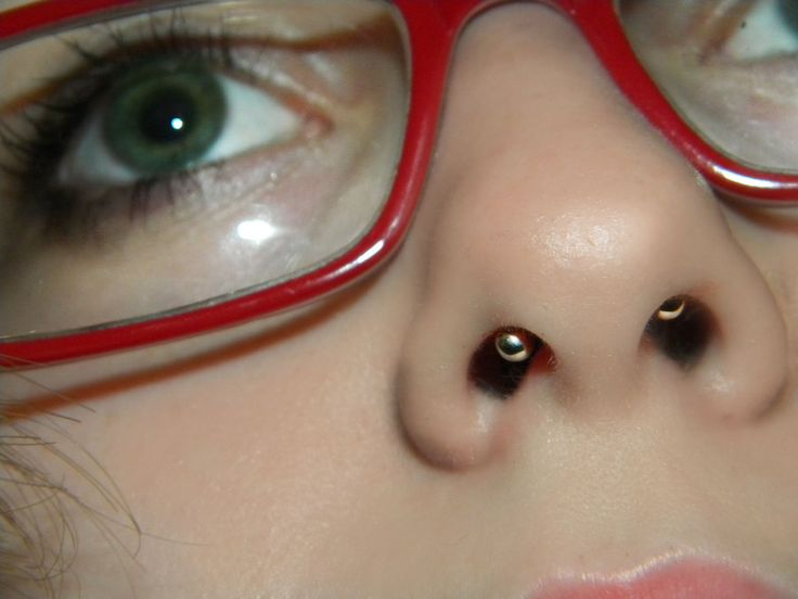 Hidden septum- I wonder how visible this really would be.