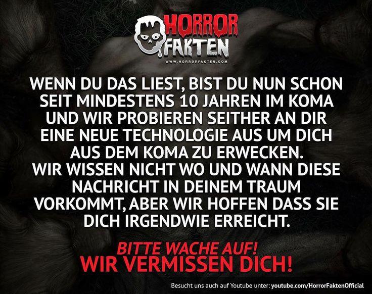 ❝Deine Welt ist nicht Real, wach auf!❞  #horrorfakten