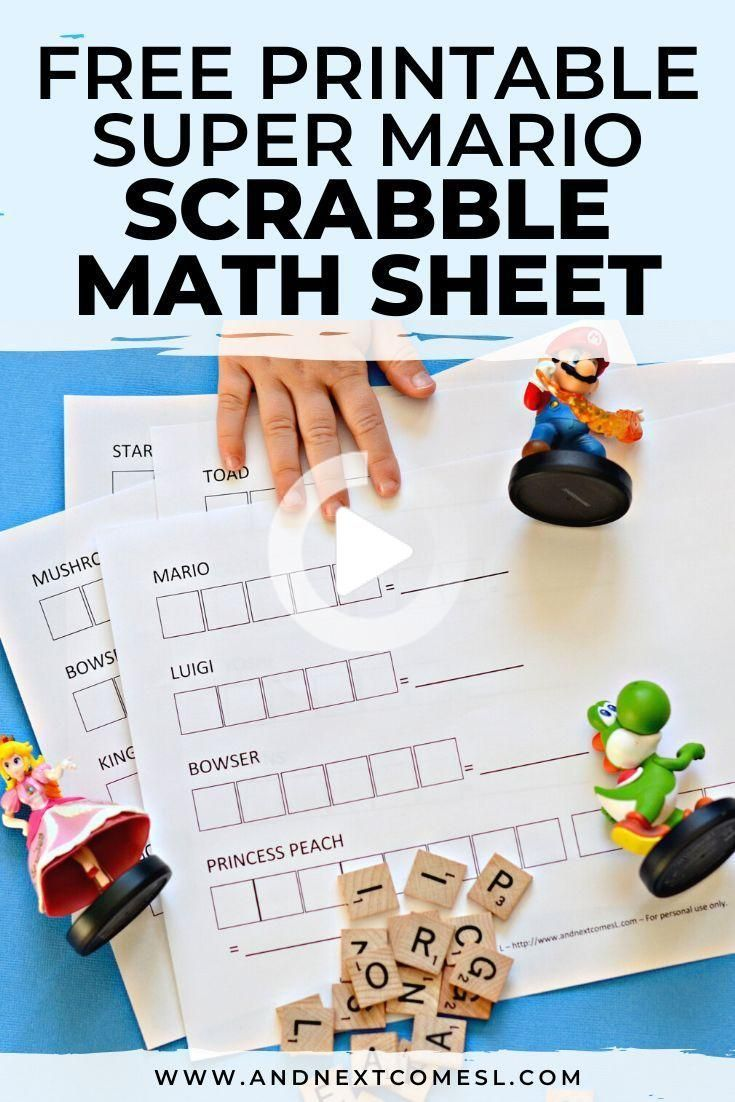 Looking For Super Mario Math Worksheets Or Games For Kids Then You Ll Want To Check Out This Free Printable Kids Math Worksheets Super Mario Business For Kids [ 1102 x 735 Pixel ]