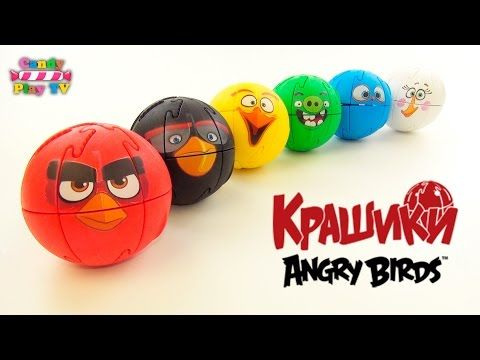 Lerne Farben mit Angry Birds 3D Puzzle & lerne Farben mit Angry Birds Surp …   – Birthday party ideas