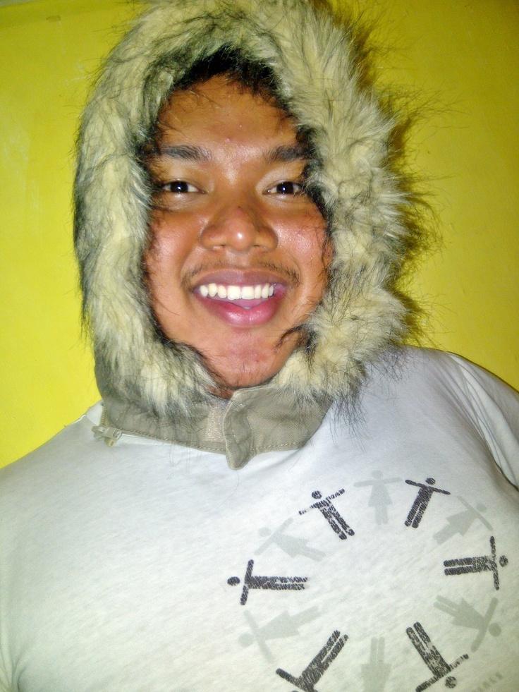 berasa di kutub pake kaya inian hahaha -.-