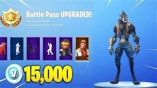 Buying All Season 6 Battle Pass Tiers In Fortnite Battle Royale