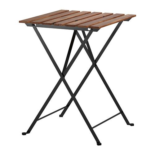 IKEA - TÄRNÖ, Table, outdoor, The table folds to make it easier to store when not in use.For added durability, and so you can enjoy the natural expression of the wood, the furniture has been pre-treated with a layer of semi-transparent wood stain.