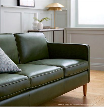 Olive Green Couch West Elm