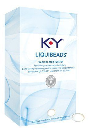 KY Liquibeads Long Lasting Ovule Vaginal Moisturizer 6 Ovule Inserts Quantity of 3 >>> You can get additional details at the image link.