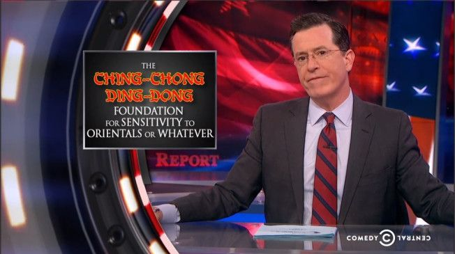 People Want 'The Colbert Report' Canceled Over Asian Joke