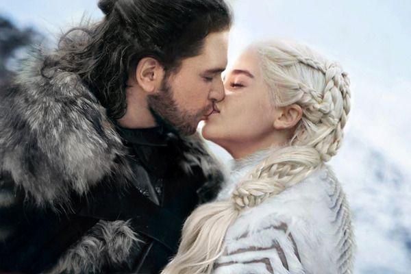 Jon Schnee Daenerys
