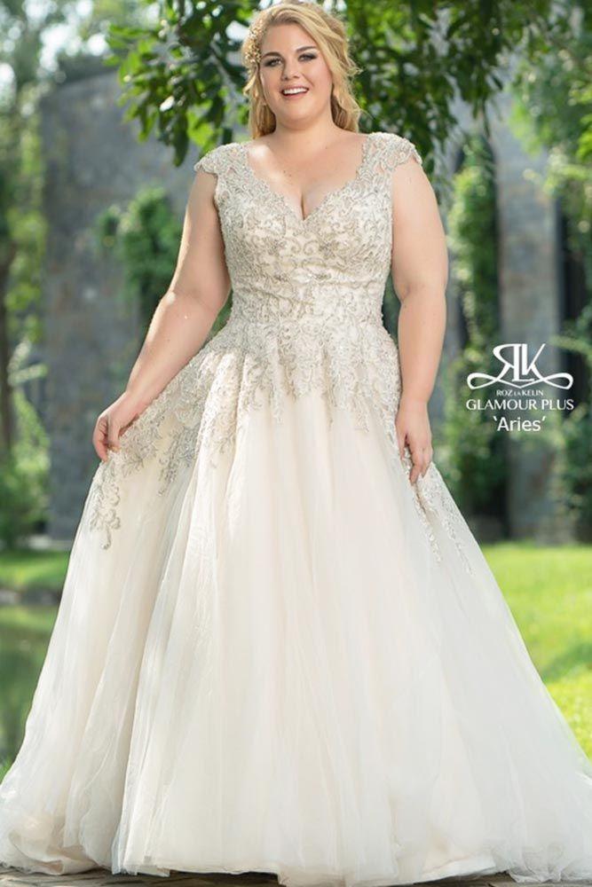 Elegant And Sassy Plus Size Wedding Dresses Designs ...