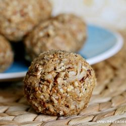 These protein balls are a great solution to healthy snacking!
