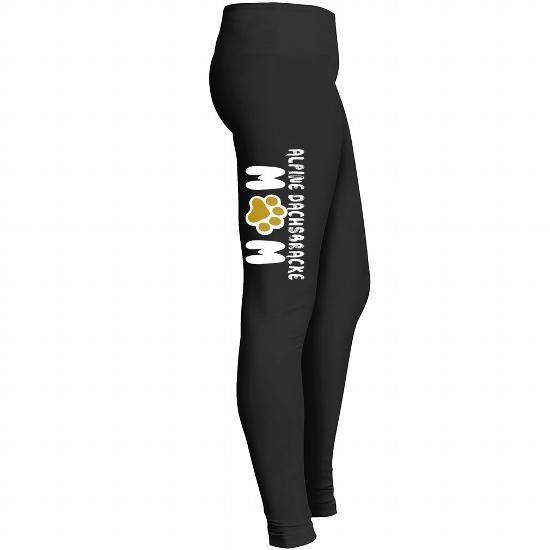 Personalized Name Alpine Dachsbracke Mom Legging T shirts