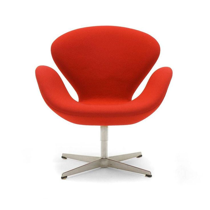 Inspirational Tuesday - Swan Chair (1958)  The Swan Chair was designed in 1958 by Danish-born Arne Jacobsen who is considered to be amongst the most influential architects and designers of the 20th century. Manufactured by Fritz Hansen this iconic piece of furniture which is still in production after almost 60 years was originally designed for the Radisson SAS Royal Hotel in Copenhagen.  Arne Jacobsen used the latest technology of his time which allowed for Swan Chairs seamless fluid curves…