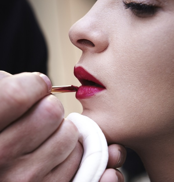 MARIACARLA BOSCONO for LE ROUGE GIVENCHY Adv Campaign - Making Of