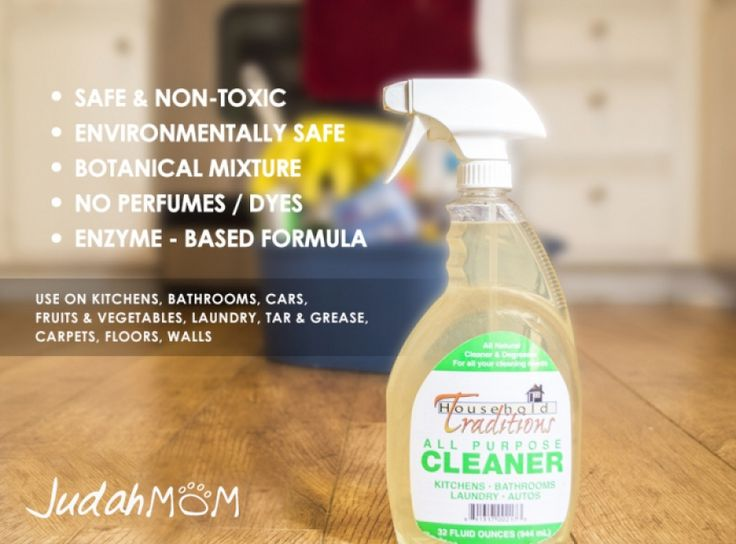 Tropical Traditions All-Purpose Household Cleaner - Non-Toxic So natural you can use it as a vegetable wash!